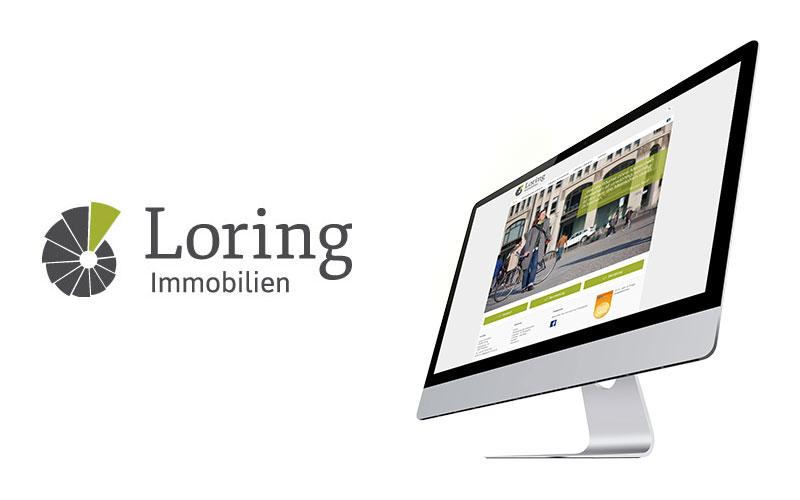 Webdesign Heidelberg Referenz Loring Immobilien